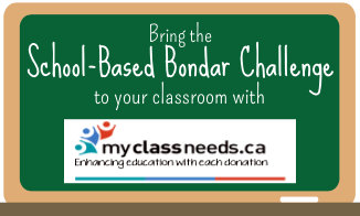 School Based Bondar Challenge